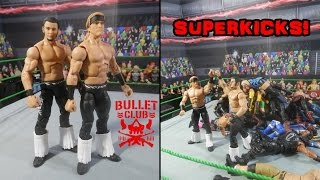 YOUNG BUCKS SUPERKICK PARTY ON WWE ROSTER | WWE Mattel Elite Custom Figures