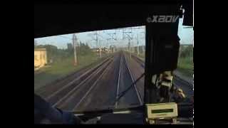 Видео из кабины электровоза ЧС6 с поездом №159 ''Аврора''(Видео из кабины электровоза ЧС6 с поездом №159 ''Аврора'' Москва - Санкт-Петербург., 2009-08-24T12:11:00.000Z)