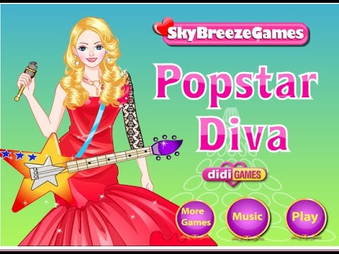 POPSTAR DIVA - top best games tv - game for kids