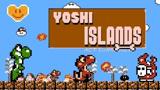 Yoshi Islands (Demo) • Super Mario Bros. ROM Hack starring the friendly Dinosaur