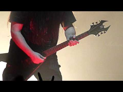 Slayer with Pat O'Brien  World Painted Blood Live @ Arena Zagreb