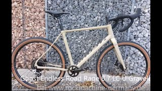 Ghost Endless Road Rage 8 7 LC U Gravelbike