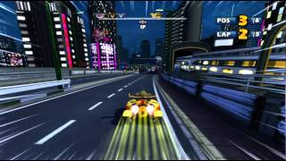 Sonic & Sega All-Stars Racing with Banjo-Kazooie Xbox 360 720P gameplay Samba Cup