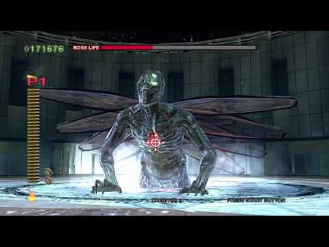 The House Of The Dead 4 Ps3 Walkthrough Final Boss The World Youtube