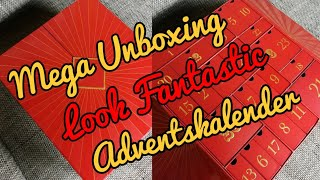 ADVENTSKALENDER Unboxing - Look Fantastic Adventskalender 2018!! ACHTUNG SPOILER!