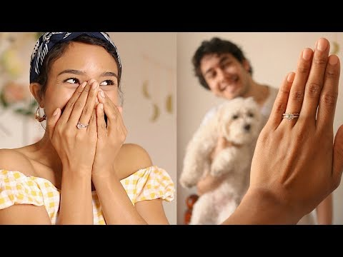 I'M ENGAGED! OUR PROPOSAL STORY! ♥