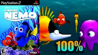 Finding Nemo [16] 100% PS2 Longplay