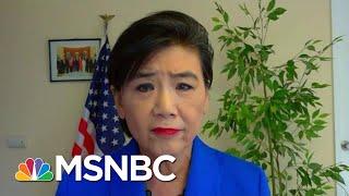 Rep. Chu: Attacks On Asian-Americans 'Very, Very Alarming'   Hallie Jackson   MSNBC