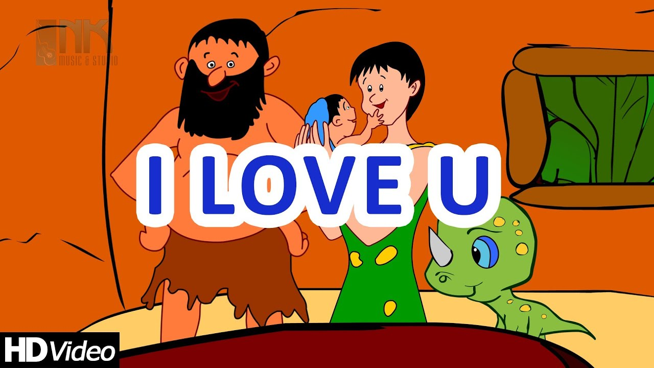 i love you we are happy family new nursery rhymes 2014