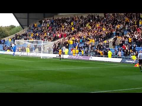 Oxford United vs. Northampton 2-0 Danny Rose gol