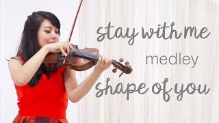 Stay With Me Shape Of You Violin Harp Medley By Nia Aladin