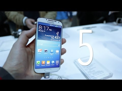 Top 5 Samsung Galaxy S4 Features!