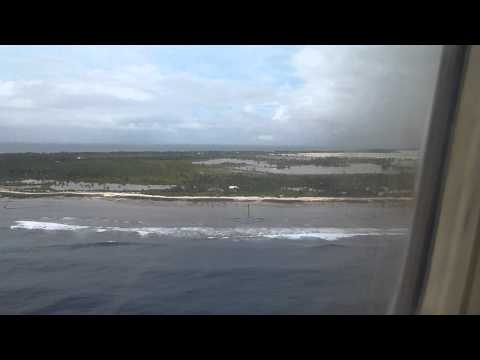 Flight - Nauru to Tarawa Landing