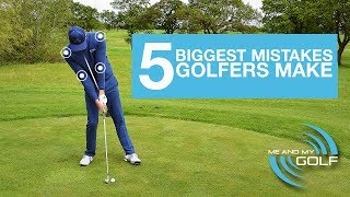 THE 5 BIGGEST MISTAKES THAT GOLFERS MAKE thumbnail