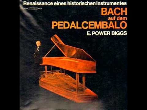 Bach Fantasy and Fugue in G Minor by E Power Biggs