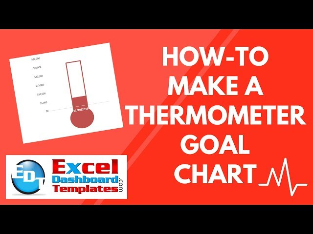 Unique Thermometer Goal Chart Generator  Goal Setting