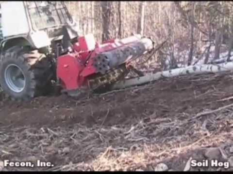 Land Clearing - Silviculture - Soil Milling Attachments