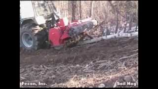 Land Clearing - Fecon - Eliminate Hard Pan - Heavy Duty Soil Tiller - Silviculture