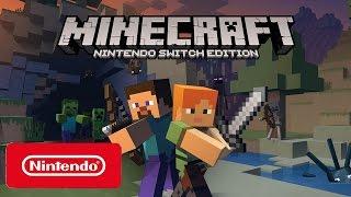 Minecraft Nintendo Switch: Official Gameplay Trailer (HD)