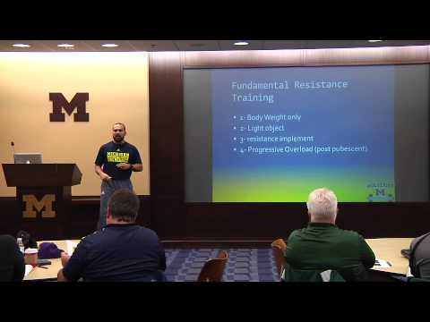 Coaches Clinic #2 - Strength and Conditioning Practices with Trainer Bo Sandoval