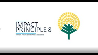 Investing for Impact: Principle 8 of Impact Management