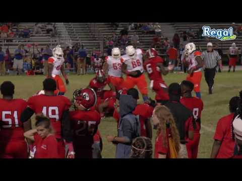 Kathleen High Football Game in Lakeland, FL Oct 14th, 2016