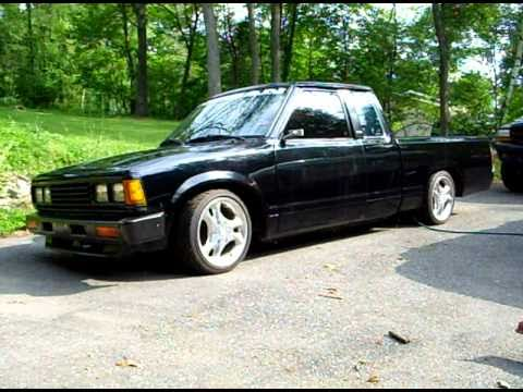 1984 Lowered Nissan 720 - YouTube