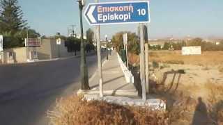 С пляжа Ask Minoa в отель Картерос(Путь по деревне Картерос в одноименный отель с пляжа возле отеля Ask Minoa., 2013-10-02T11:04:33.000Z)