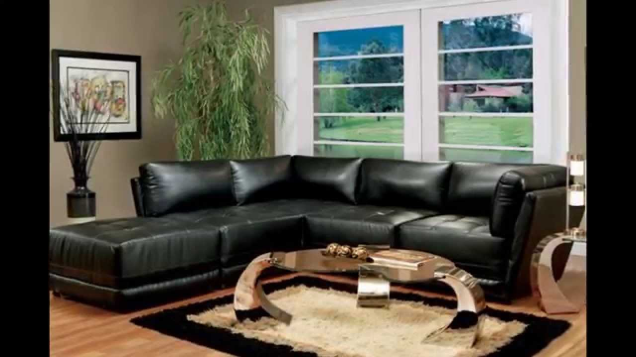 Living Room Sets | Black Living Room Furniture - YouTube