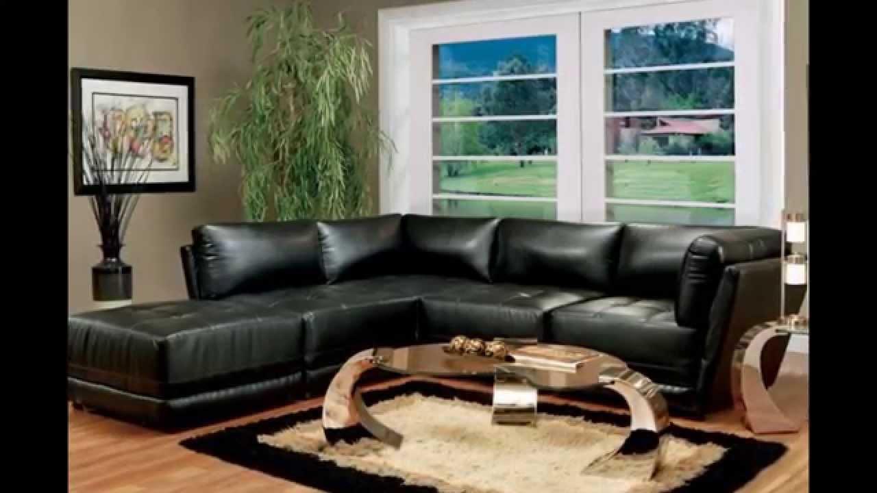 Living Room Sets | Black Living Room Furniture - YouTube