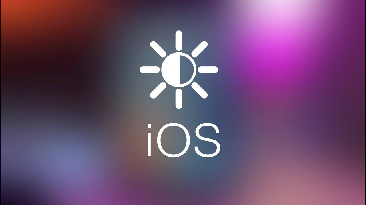 Cómo bajar al mínimo el brillo del iPhone, iPad y iPod ...