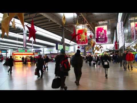 A Walk Around The Munich Central Station / München Hauptbahnhof