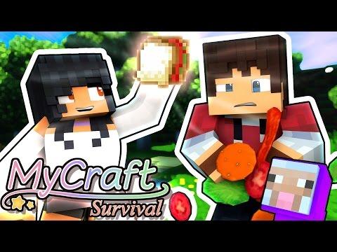 Love Sandwich! | MyCraft Minecraft Survival | Part 4