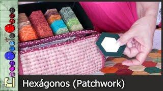 Cómo hacer un Hexágono (Patchwork) [Tutorial]