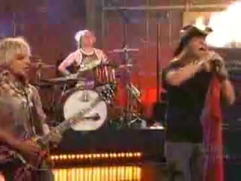 Poison - Nothin' But A Good Time Live In Jay Leno (09-06-2006)