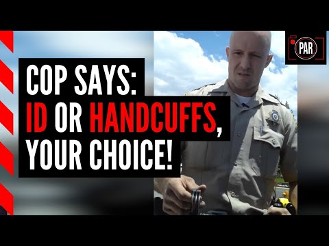 Cops keep pulling him over, and their reasons are increasingly bizarre
