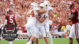 No. 19 Texas beats No. 7 Oklahoma on last-minute field goal | CFB Highlights