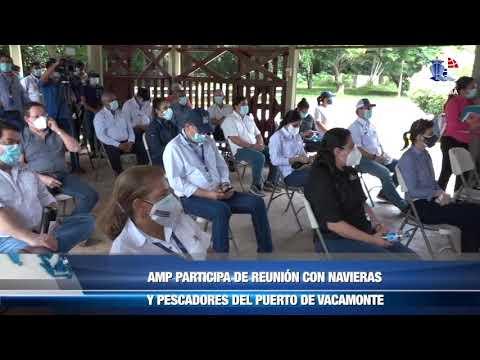 AMP PARTICIPA DE REUNIÓN CON NAVIERAS Y PESCADORES DEL PUERTO DE VACAMONTE