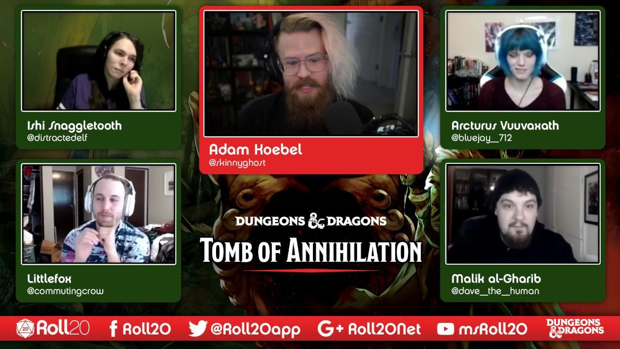 Episode 16 - Roll20 Presents: D&D Tomb of Annihilation : LightTube