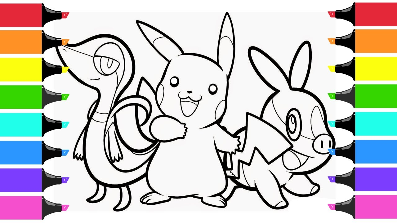 Snivy Pokemon Coloring Page - Free Pokémon Coloring Pages ... | 720x1280