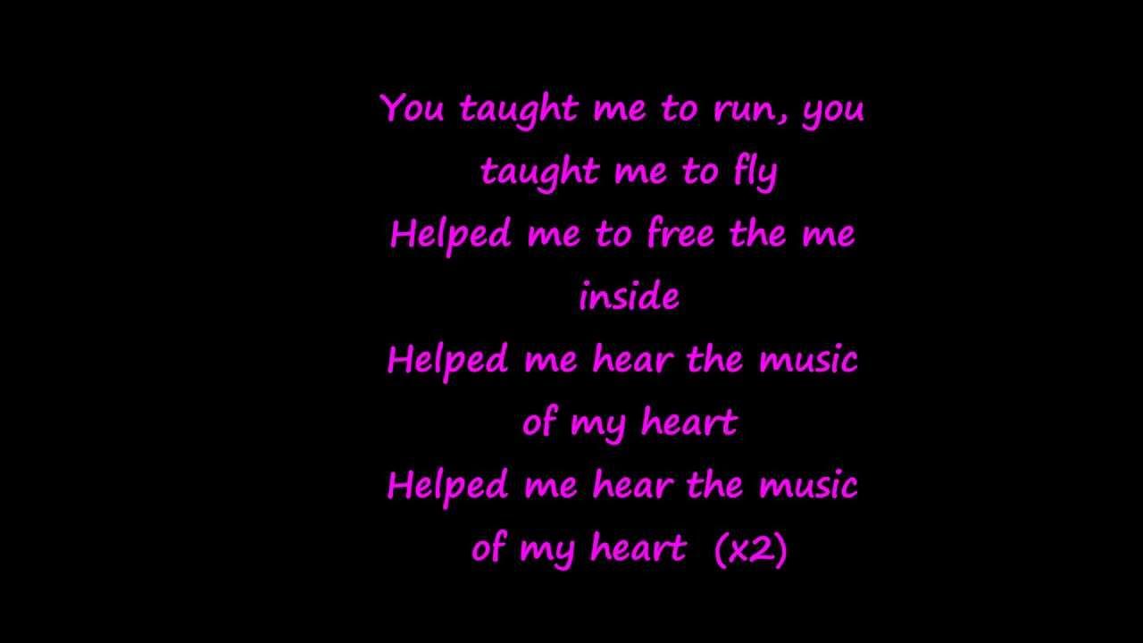 Gloria Estefan Ft Nsync Music Of My Heart With Lyrics Youtube