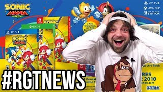 SONIC MANIA PLUS REACTION! Coming to PS4, Xbox and Switch in 2018!   #RGTNEWS Quickie