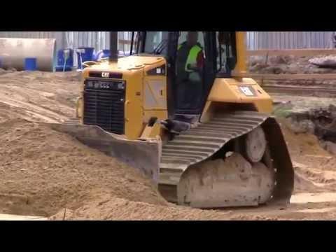 Buldozer ● Caterpillar D8R ● รถแทรกเตอร์อเมริกันที่ทำงาน