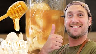 How to Make Fermented Garlic Honey with Brad | It