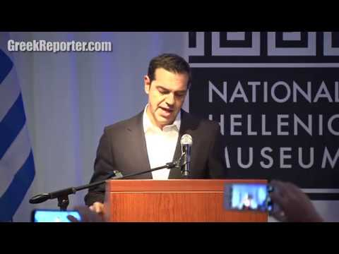 Greek PM Alexis Tsipras Visits the National Hellenic Museum in Chicago