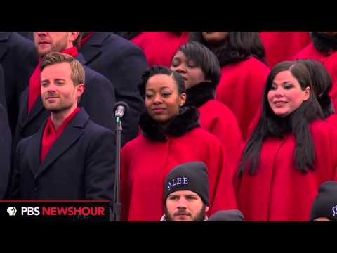 Watch the Brooklyn Tabernacle Choir sing the 'Battle Hymn of the Republic'