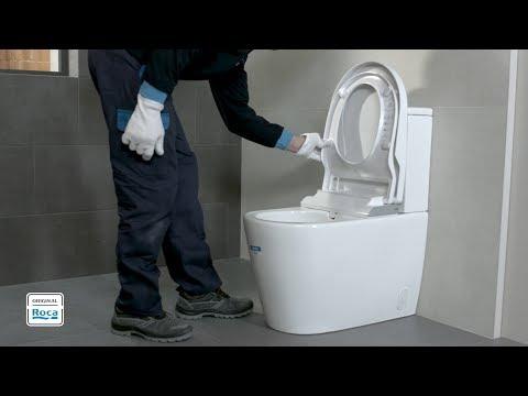 In-Wash® - Installation (close-coupled Version) | Roca
