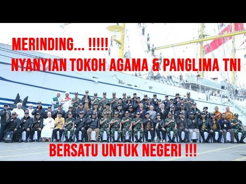 PANGLIMA TNI & TOKOH AGAMA BERLAYAR BERSAMA !!! ADA APA ??