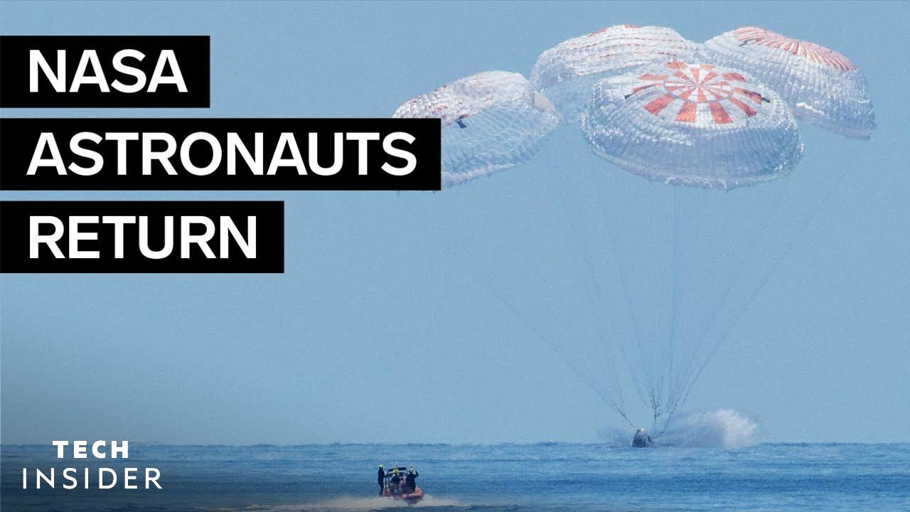 Why Elon Musk was so nervous about Crew Dragon's Splashdown