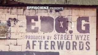 """EDO. G & STREET WYZE """"AFTERWORDS"""" - SNIPPETS (mixed by DJ DJAZ)"""